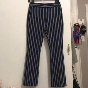 Hugo Boss Striped Trousers. Cute work pants.